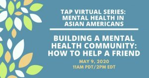 TAP Mental Health Series - Building a Mental Health Community