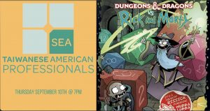 TAP-Sea: Dungeons & Dragons vs Rick and Morty