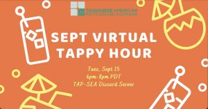 TAP-Sea: Sept Virtual TAPpy Hour