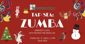 TAP-Sea: Zumba workout with Grace