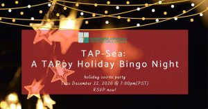 TAP-Sea: A TAPpy Holiday Bingo Night