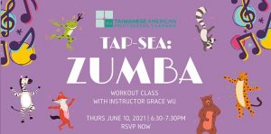 TAP-Sea: Zumba workout class with Grace