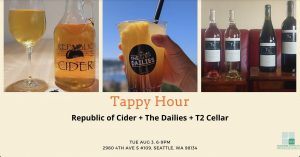 TAP-Sea: TAPpy Hour Summer Edition