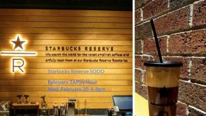TAP-Sea: TAPpy Hour at Starbucks Reserve SODO